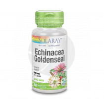 Echinacea y GolDensela Root 100 capsulas Solaray