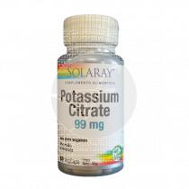 Potasio Citrato 60 capsulas Solaray