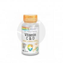 Vitamina C & D 1000mg C 50mcg D Solaray