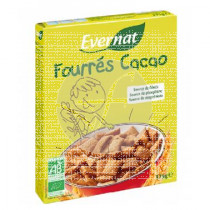 Cereales Rellenos Cacao Ever Evernat Kids