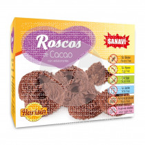 Roscos de Cacao sin gluten Harisin