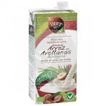 Bebida vegetal de arroz con avellanas bio Diet Radisson