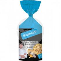 Tortitas De Maiz Setas Trufa y Parmesano Bicentury