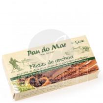 Filetes de Anchoas en Aceite de Oliva Eco Pan Do Mar