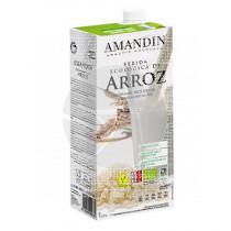 Bebida Vegetal De Arroz sin gluten sin Lactosa Eco Amandin