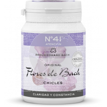 Flores De Bach Chicles Nº 41 concentracion Lemon Pharma