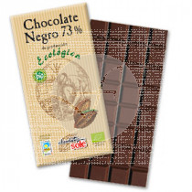Chocolate negro 73 con agave Chocolates Sole