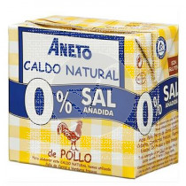 Caldo Pollo Natural 0 Sal Aneto Farmacia