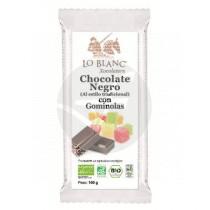Chocolate Negro con Golosinas Lo Blanc Xocolaters
