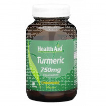 TURMERIC ROOT 750MG COMPRIMIDOS HEALTH AID
