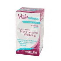 MALE FORMULA VIGORIZANTE HOMBRE HEALTH AID