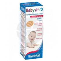 Babyvit-D gotas Health Aid