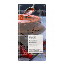 Chocolate negro cobertura postres bio Vivani
