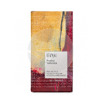 Chocolate con Leche Relleno De Praliné De Avellanas Bio Vivani