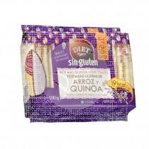 Tostadas Ligeras de Arroz y Quinoa sin gluten Diet-Radisson