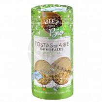 Tostas de aire Integrales Bio 125gr Diet Radisson