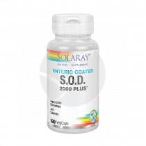 S.O.D. 2000 Plus 400Mg 100 capsulas Vegetales Solaray
