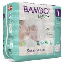 Pañales Talla 1 Recien Nacido 2-4Kg Eco Bambo Nature