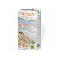 Bebida vegetal de almendras bio 1l Monsoy