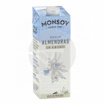 Bebida Vegetal De Almendras Bio sin Azucar Monsoy