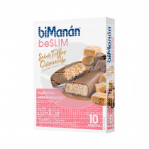 Barritas Sustitutivas Toffee 10unidades BiManan