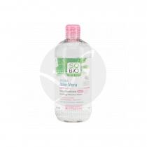 Agua micelar calmante Aloe vera y rosas 500ml So' Bio Etic