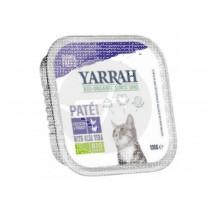 tarrina Comida Para Gatos con Pavo Bio Yarrah