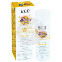 Crema Solar Bebes y Niños Spf50+ pieles sensibles Eco Cosmetics