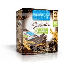 Barritas De Cereales De Chocolate Negro sin Azucar Bicentury