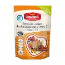 Semillas de Lino con Bacilus Coagulan y Vitamina D Linwoods