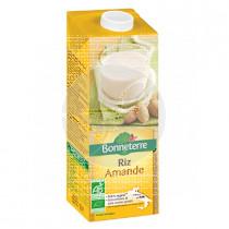 Bebida Vegetal De Arroz y Almendra Bio 1L Bonneterre