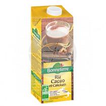 Bebida Vegetal Arroz Cacao con Calcio Bio 1L Bonneterre