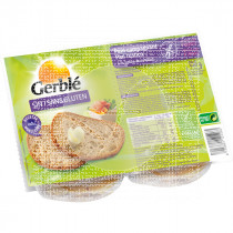 Pan Rustico sin gluten 2X175Gr Gerble
