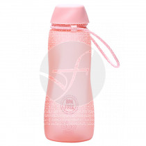 Botella BBO Tritán rosa 550 ml Irisana