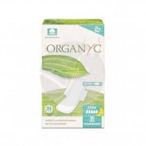 Compresas con Alas Noche Organico 10uds Organyc