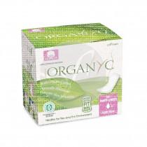 ProtegeSlip Mini 100% algodon, organico 24uds Organyc