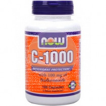 VITAMINA C 1000MG BIOFLAVONOIDES NOW