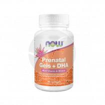 Prenatal Gels + DHA 90 perlas Now