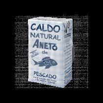 Caldo natural de pescado Aneto