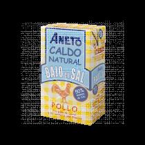 CALDO NATURAL DE POLLO BAJO EN SAL ANETO