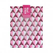 Porta Bocadillos Reutilizable Tiles Rosa Roll´Eat
