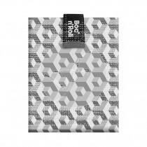 Porta Bocadillos Reutilizable Tiles Negro Roll´Eat