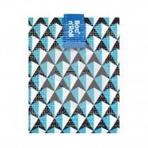 Porta Bocadillos Reutilizable Tiles Azul Roll´Eat