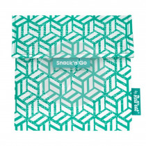 Porta Snacks Go Tiles verde Roll´Eat