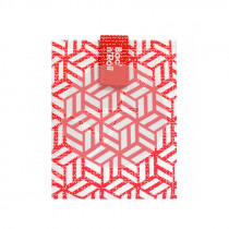 Porta Bocadillos Reutilizable Tiles Rojo Roll´Eat