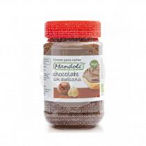 Crema para Untar cacao con avellana Vegan 375gr Mandole