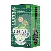 Te Green Chai Bio Eco 20 bolsitas Cupper
