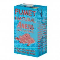Caldo Natural Fumet Pescado y Marisco 1l Aneto
