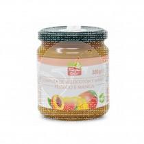 Compota Melocoton Mango Bio Sin Gluten 320gr La Finestra Sul Cielo