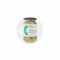 Aceitunas Manzanilla Verde Sin Hueso Vegano 360grs Casa Amella
